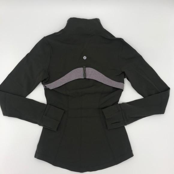 LULULEMON  Define Jacket Wren Iris Wee Stripe SZ 4